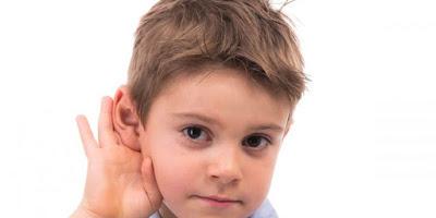 scadere auz copil