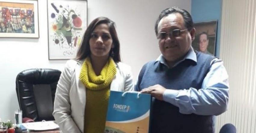 FONDEP: Distrito de Puyusca en Ayacucho emprende acciones por la innovación educativa - www.fondep.gob.pe