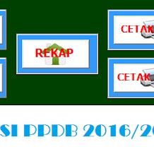 Aplikasi PPDB Terbaru Format Excel