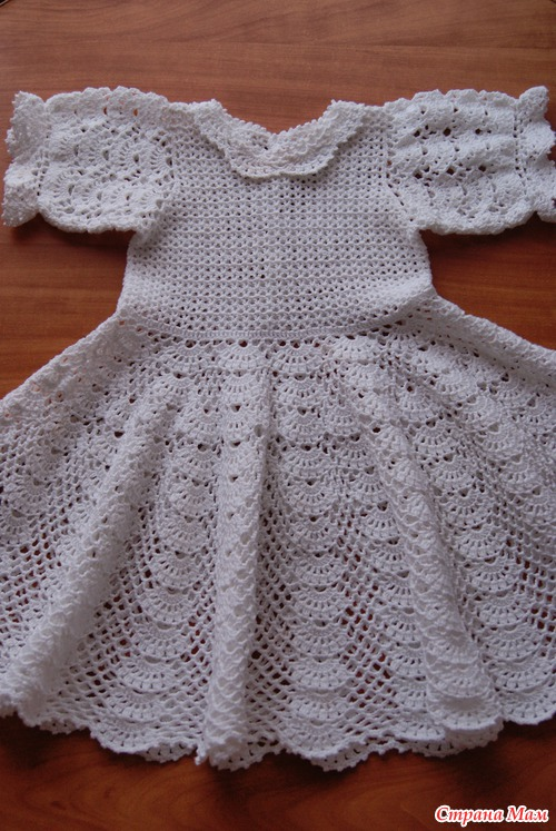 How To Crochet Baby Dress Pattern : How to crochet: Crochet Patterns for free crochet baby ...