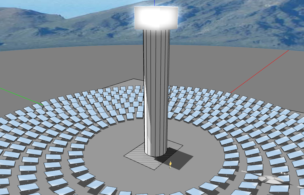 Simulating Concentrated Solar Power Plants Using Energy3d