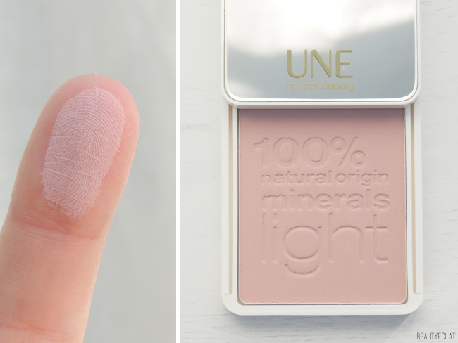 revue avis test swatch une natural beauty rose minerals enhancer embellisseur mineral rose