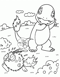 Charmander Coloring Page 6