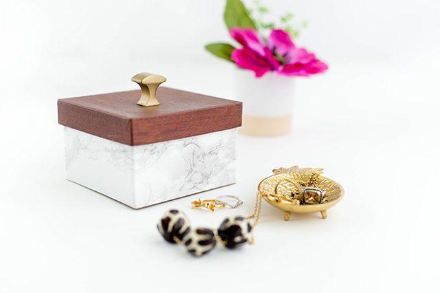 el yapımı mücevher kutusu