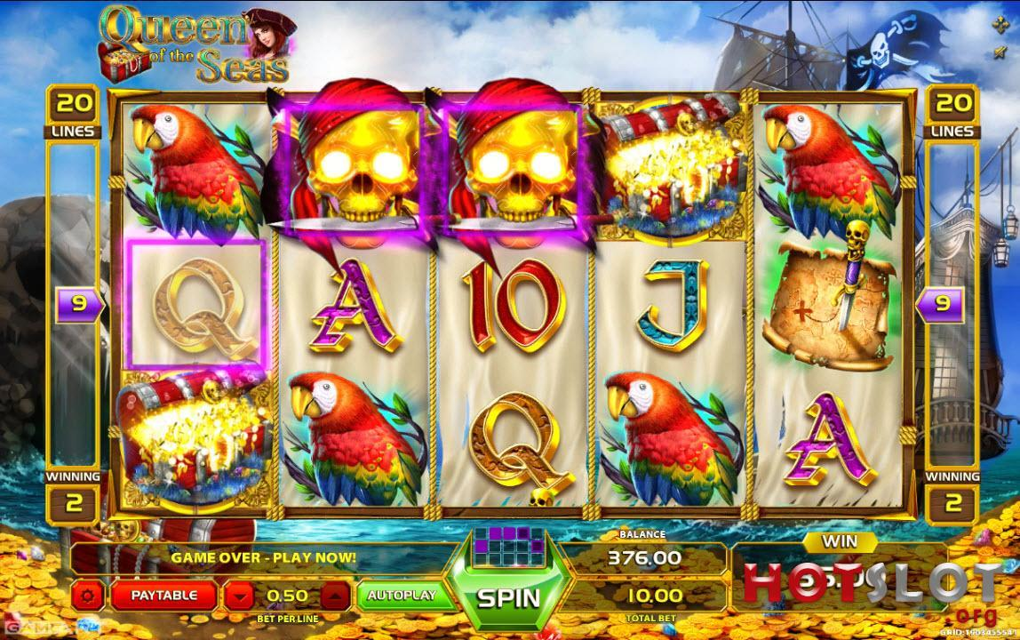 Jucat acum Queen of the Seas Slot Online