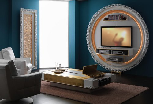 Modern Wall Tv Unit Design Ideas For Luxury House