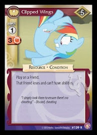 My Little Pony Clipped Wings Absolute Discord CCG Card