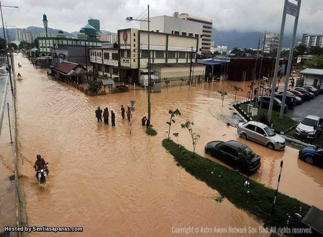 Fenomena Fujiwara Punca Banjir Besar Pulau Pinang