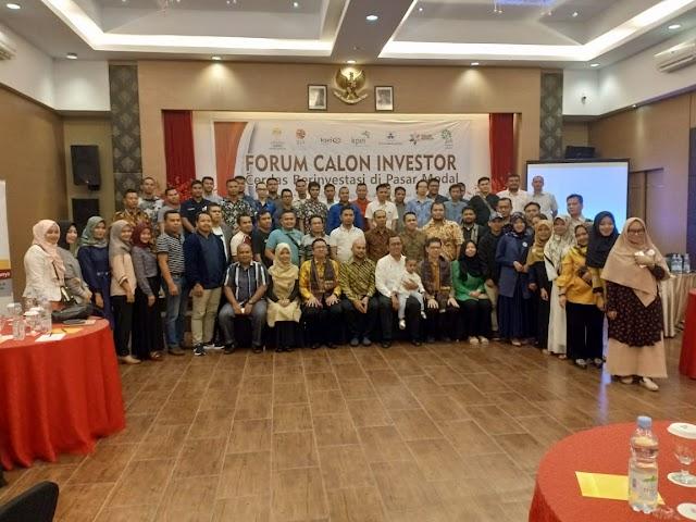 HIPMI Kota Padangsidimpuan Gelar Forum Calon Investor Bersama IDX Medan dan Panin Sekuritas