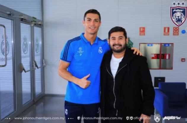 Pertemuan TMJ Dengan Cristiano Ronaldo