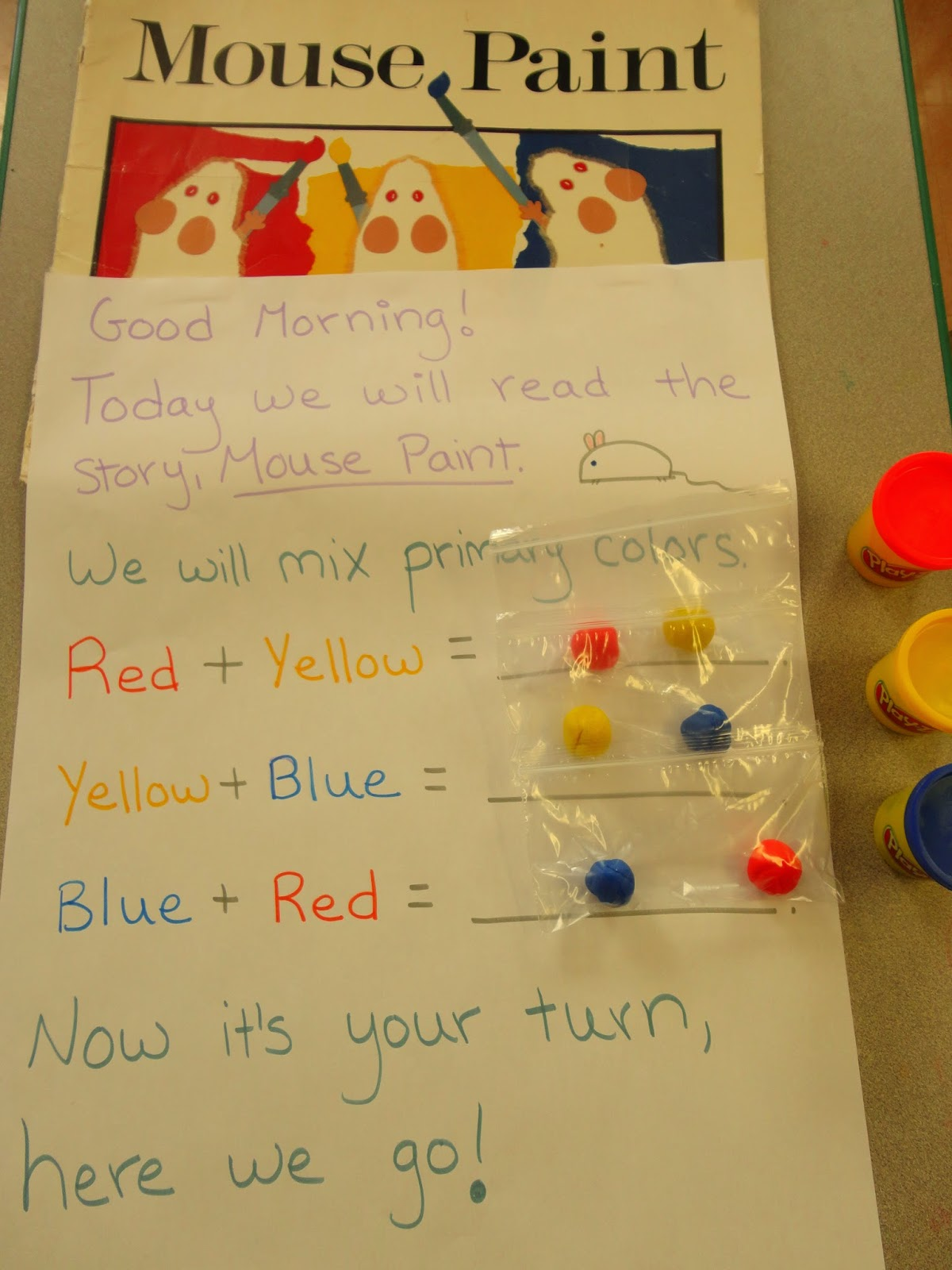My Catch A Star Classroom Mice And Color Mixing