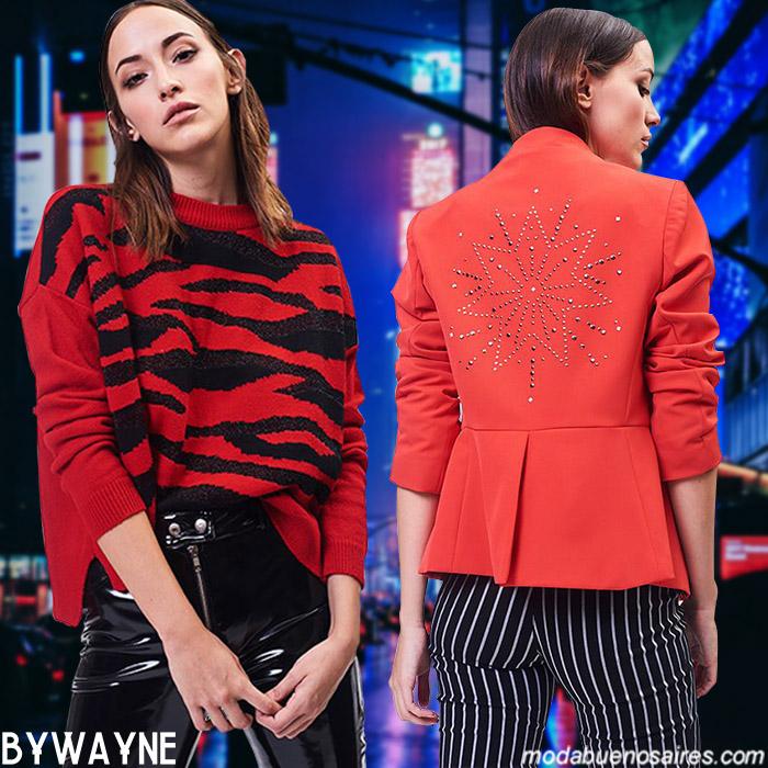 Sweaters y sacos de moda invierno 2019. Moda 2019 invierno.