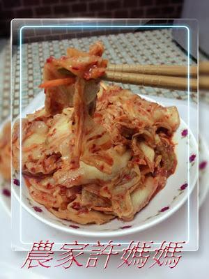 完全沒什麼好挑剔許媽媽韓國泡菜