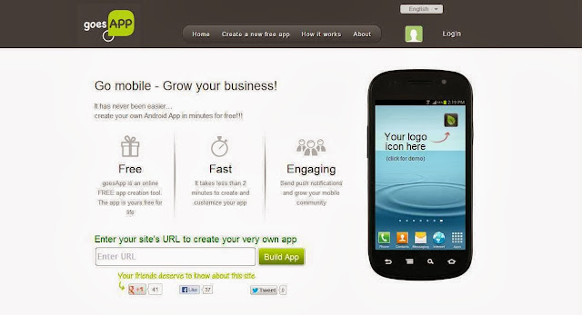 how to create your own Android, iOS apps for free in few minutes?