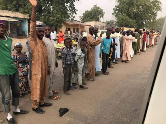Photos: Borno state governor reopens two major roads closed since 2014 due to Boko Haram attacks