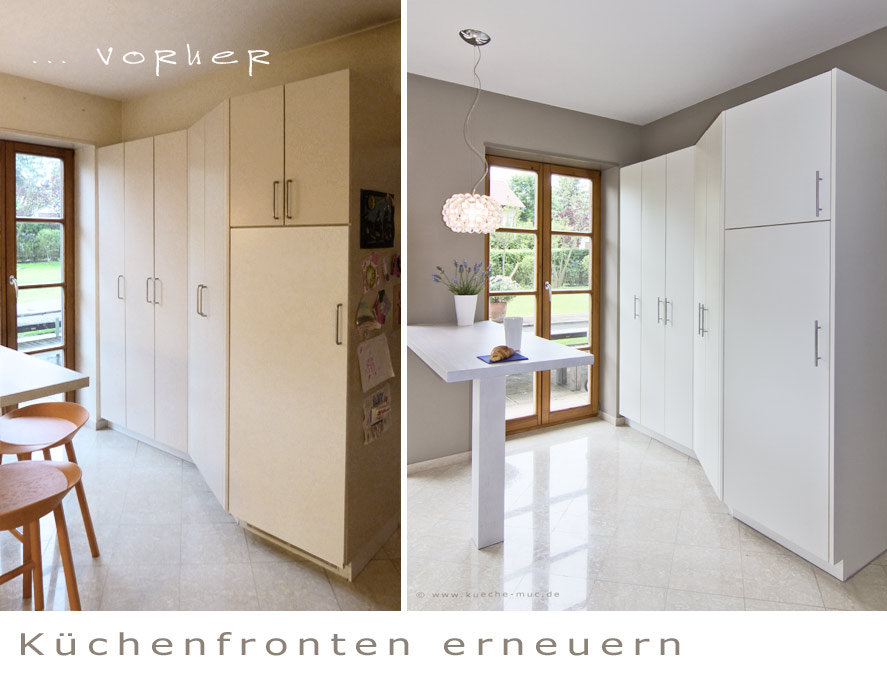 k chenfronten neu. Black Bedroom Furniture Sets. Home Design Ideas