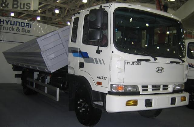 Xe tải 5 tấn hyundai hd120