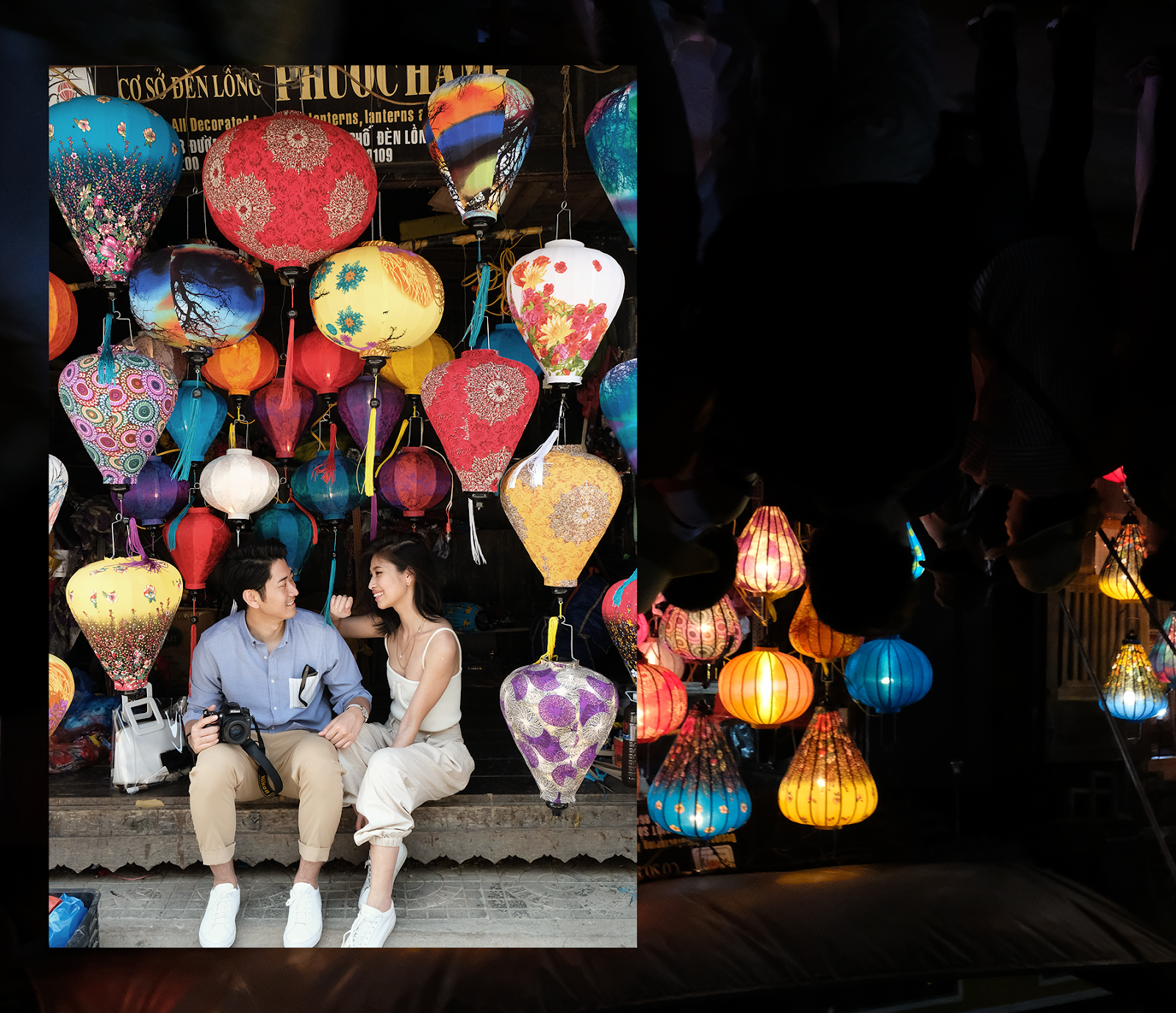 Hoi An Lantern Town Vietnam Couple Photos
