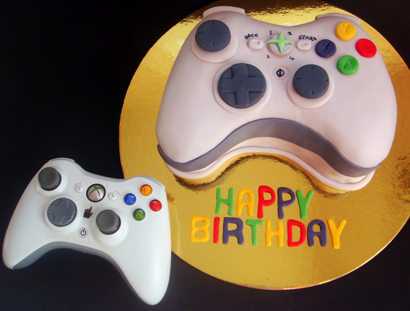 Xbox Birthday Cake 1 Party Ideas