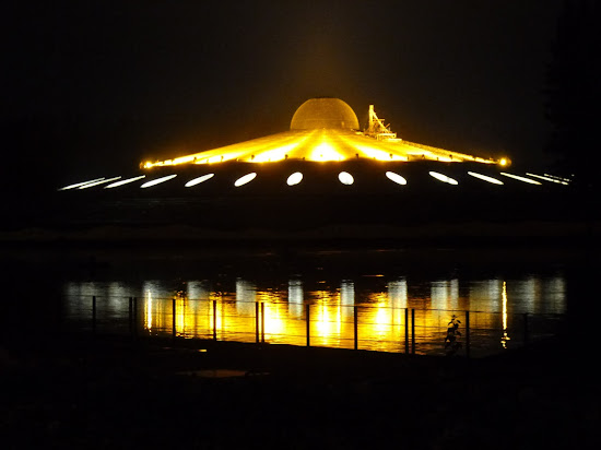 UFO-shaped Buddhist temple in Thailand