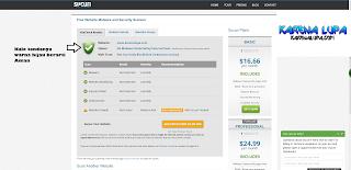 Hasil scan link situs website terhindar dari virus, malware, spyware, blacklist dengan sucuri