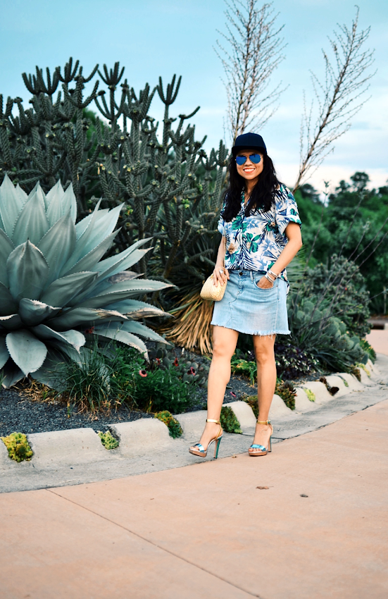 How to wear Hawaiian prints