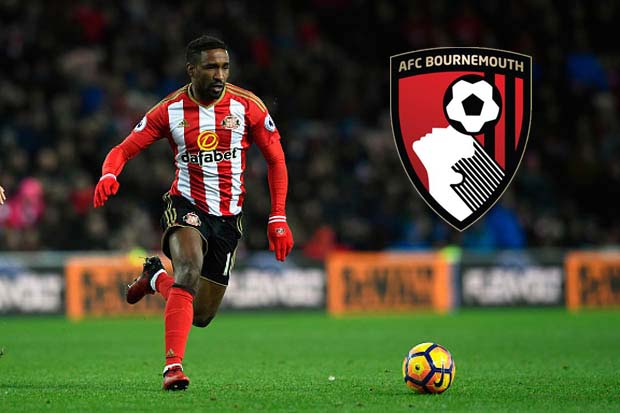 Jermain Defoe set to complete Bournemouth deal