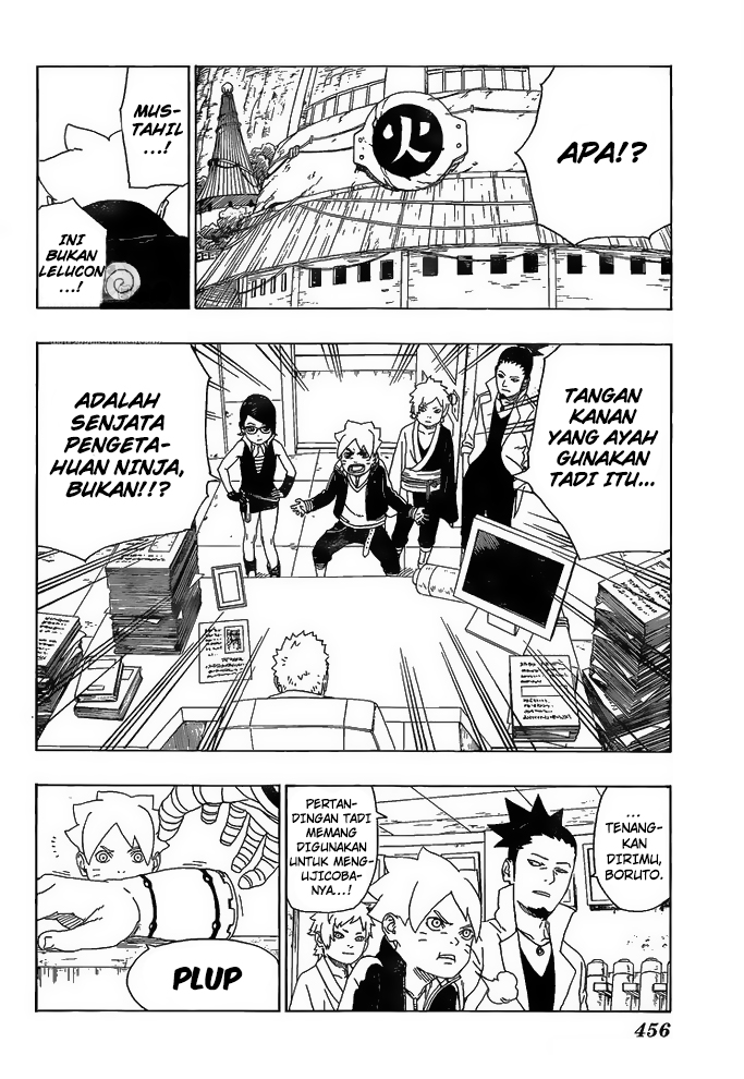 Boruto Chapter 16-37