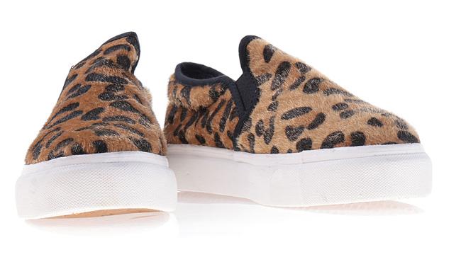 Espadrile dama ieftine cu print leopard de vara