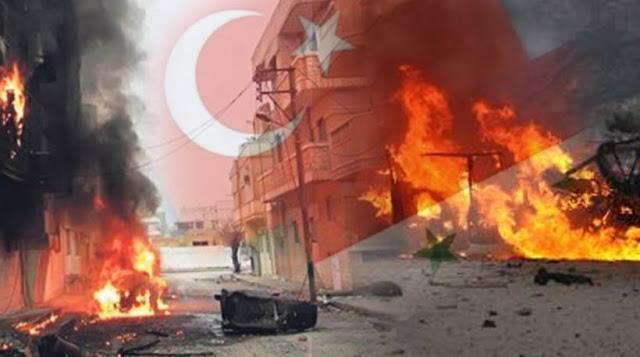 Συρία: Περίπου 100 άμαχοι νεκροί στην τουρκική επέμβαση