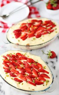 Çilekli Melek Pasta Resimleri