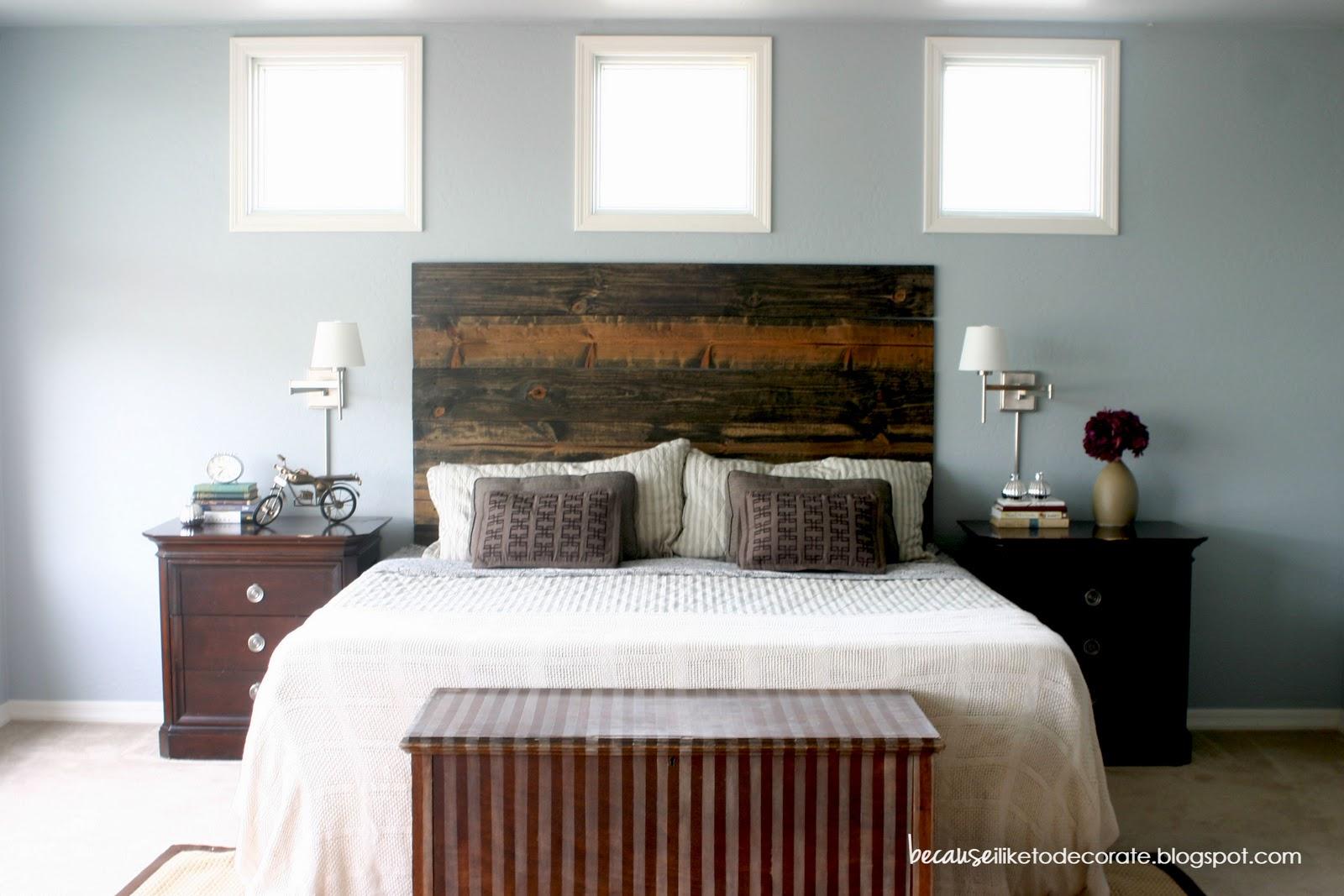 Remodelaholic | Mini Master Bedroom Makeover