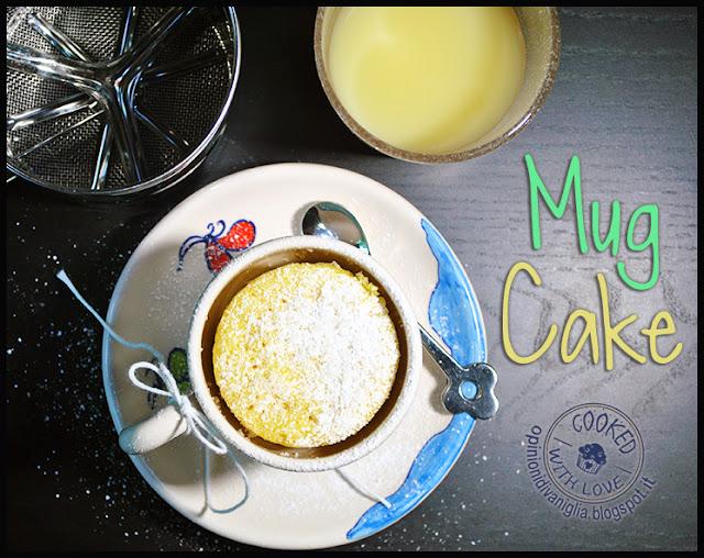 Ricetta Mug Cake Microonde
