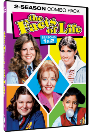 DVD Review - The Facts of Life: Seasons 1 & 2