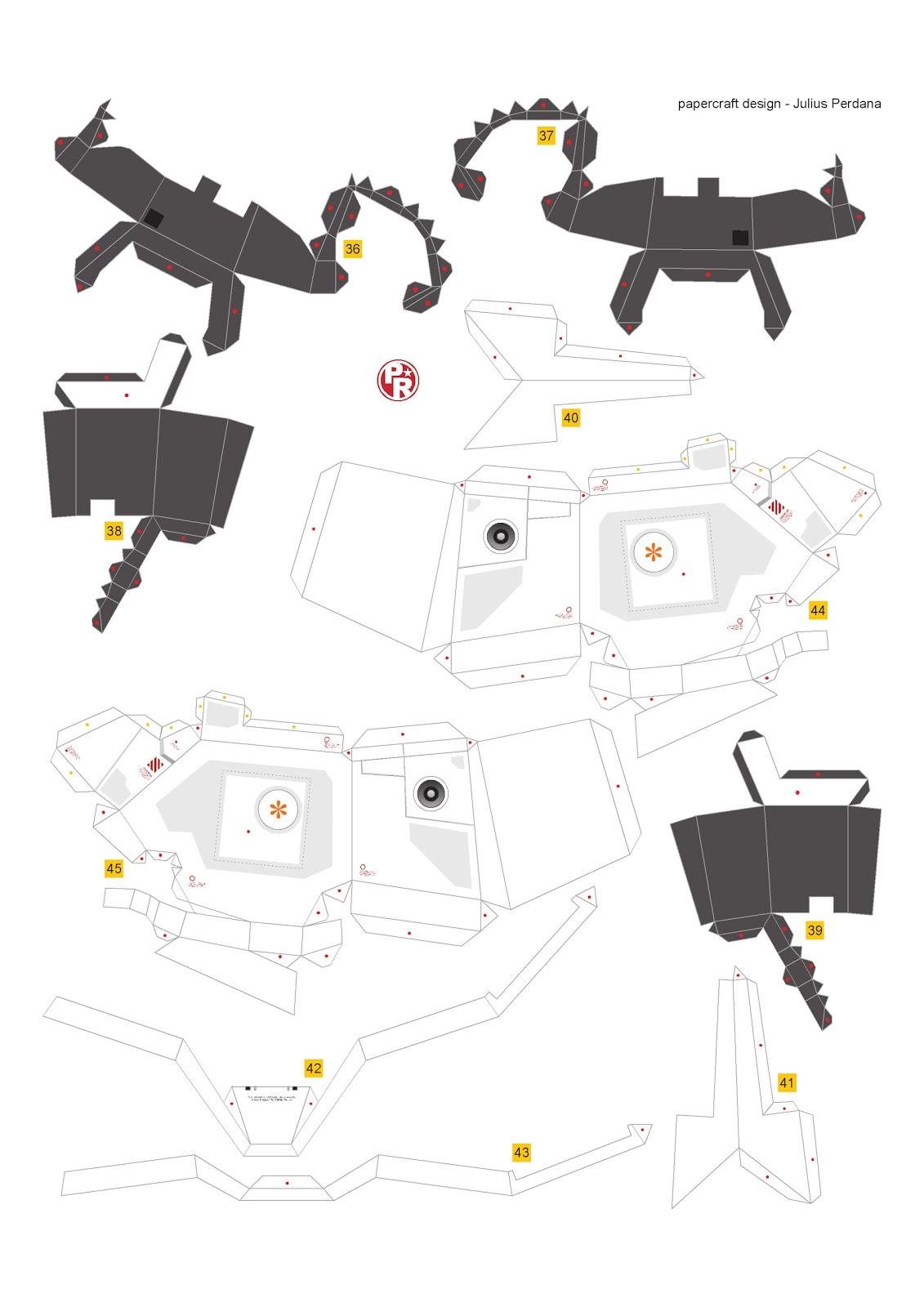 Geek S Republic Unicorn Gundam By Paper Replika Part 2