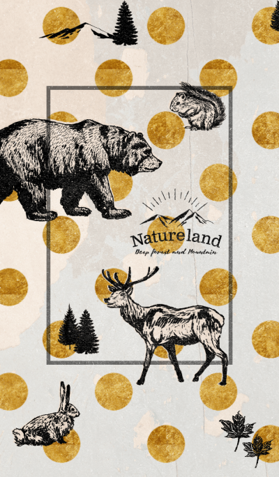 Nature land Vintage