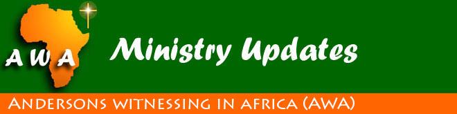 AWA Ministry Updates