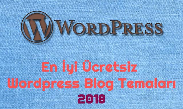 Ücretsiz Wordpress Blog Temaları