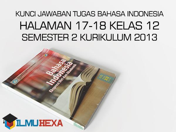 Kunci Jawaban Buku Paket Bahasa Indonesia Kelas 12 ...