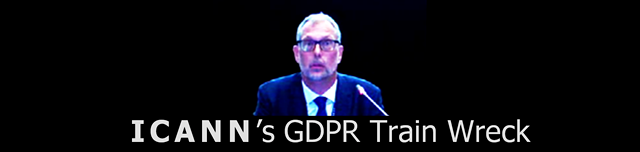 Photo of ICANN CEO Goran Marby - ICANN's GDPR Train Wreck ©2018 DomainMondo.com