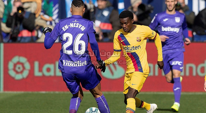 برشلونة vs ليغانيس