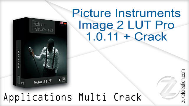 Picture Instruments Image 2 LUT Pro 1.0.11 + Crack