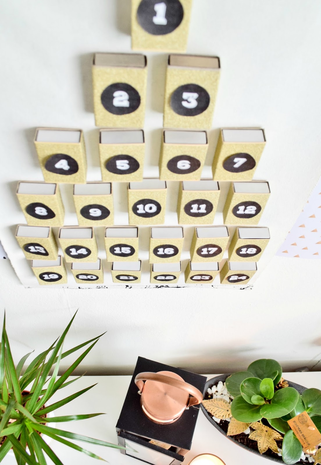 DIY Advent Calendar   Cleo-inspire