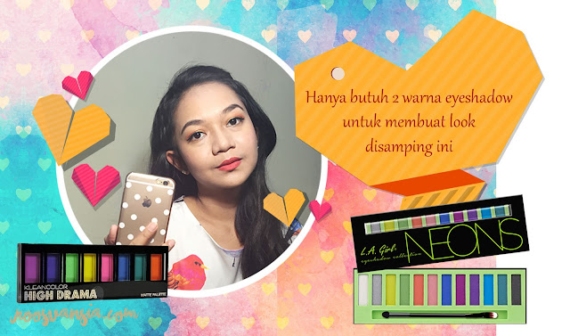 valentine-makeup; dating-makeup; makeup; no-pink-makeup; beauty-blogger-indonesia; blogger-perempuan; orange-eyeshadow; orange-makeup