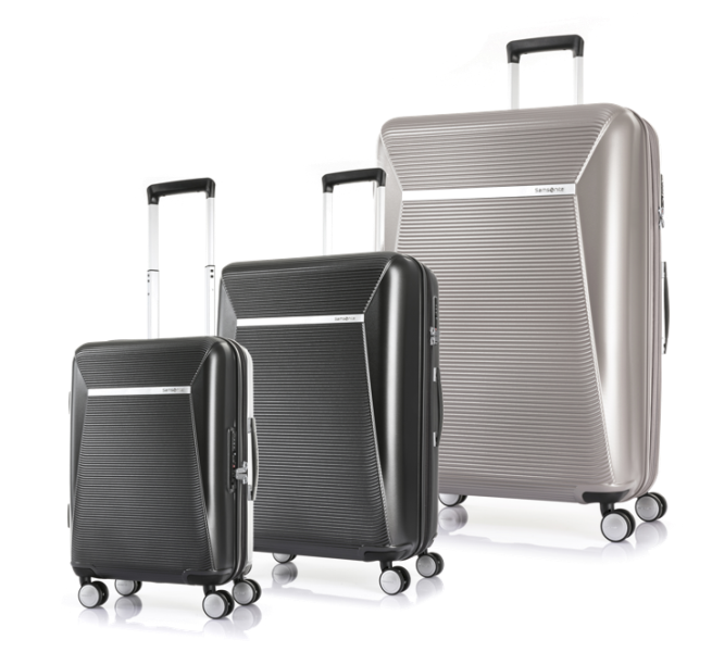 samsonite enwrap spinner luggage
