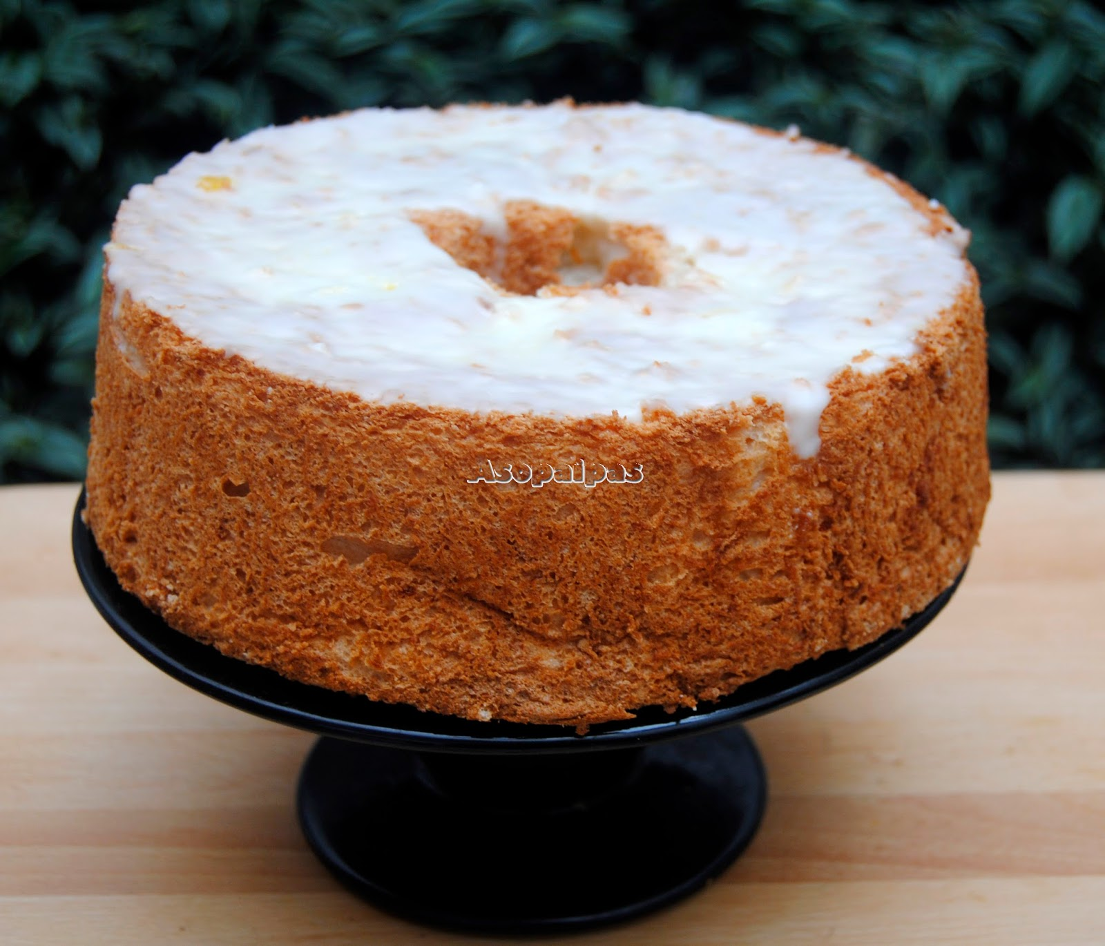 Angel Food Cake de Naranja