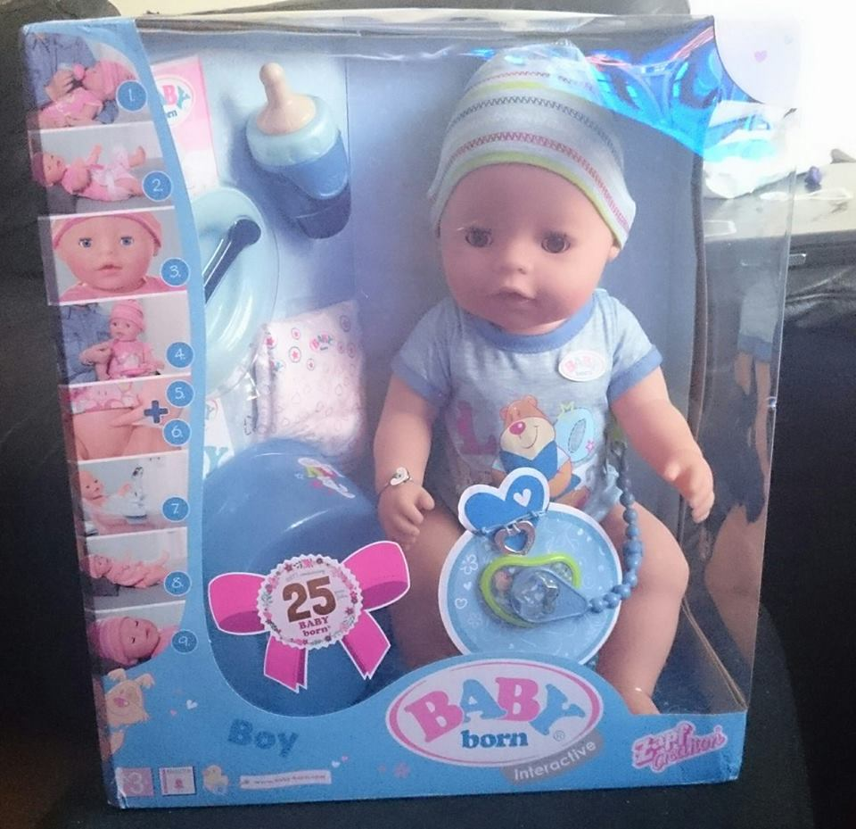Baby Born Brother Doll - Review | Mum of a Premature Baby