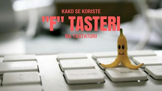 Kako se koriste F tasteri na tastaturi