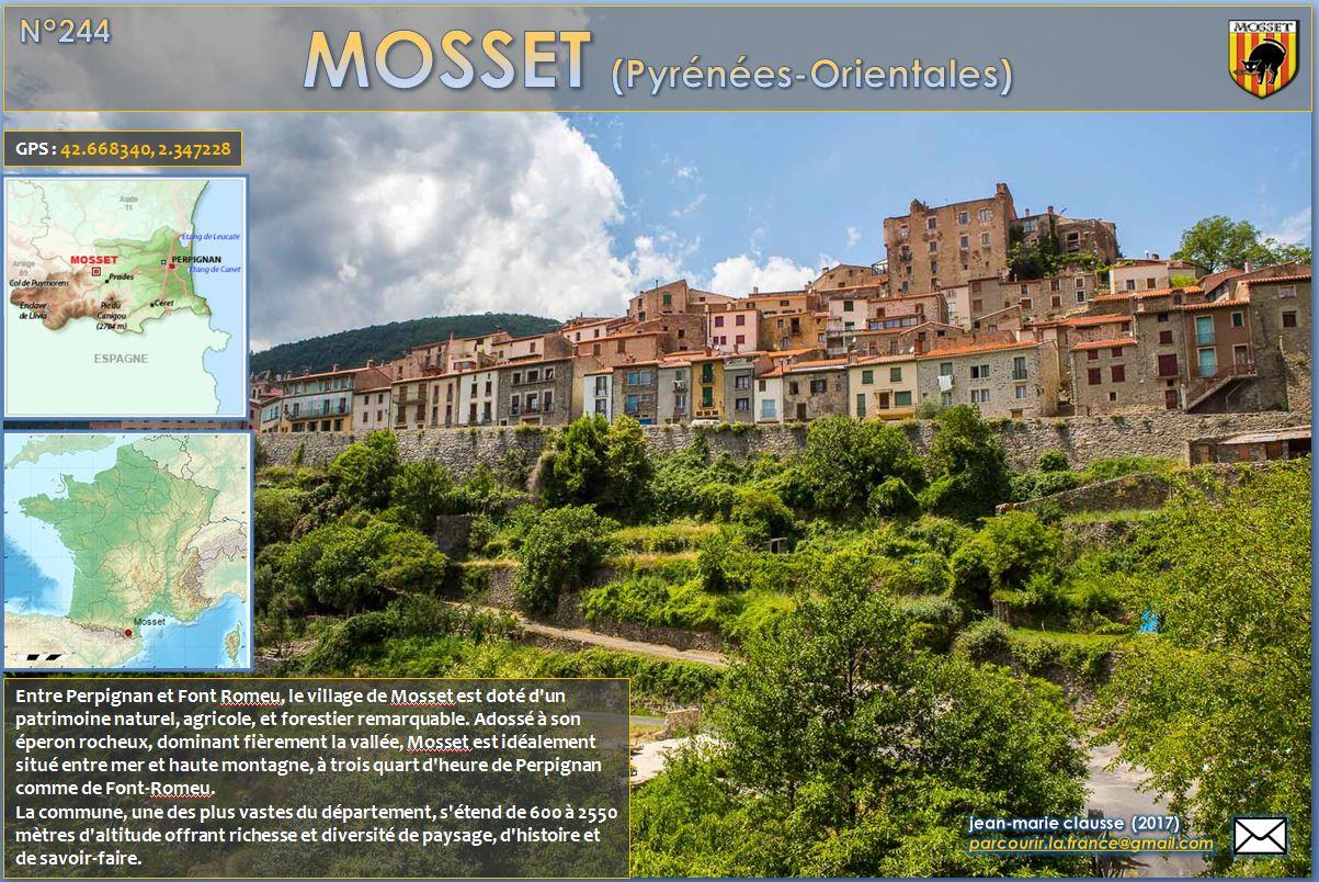 Parcourir la France 244  MOSSET PyrnesOrientales 66