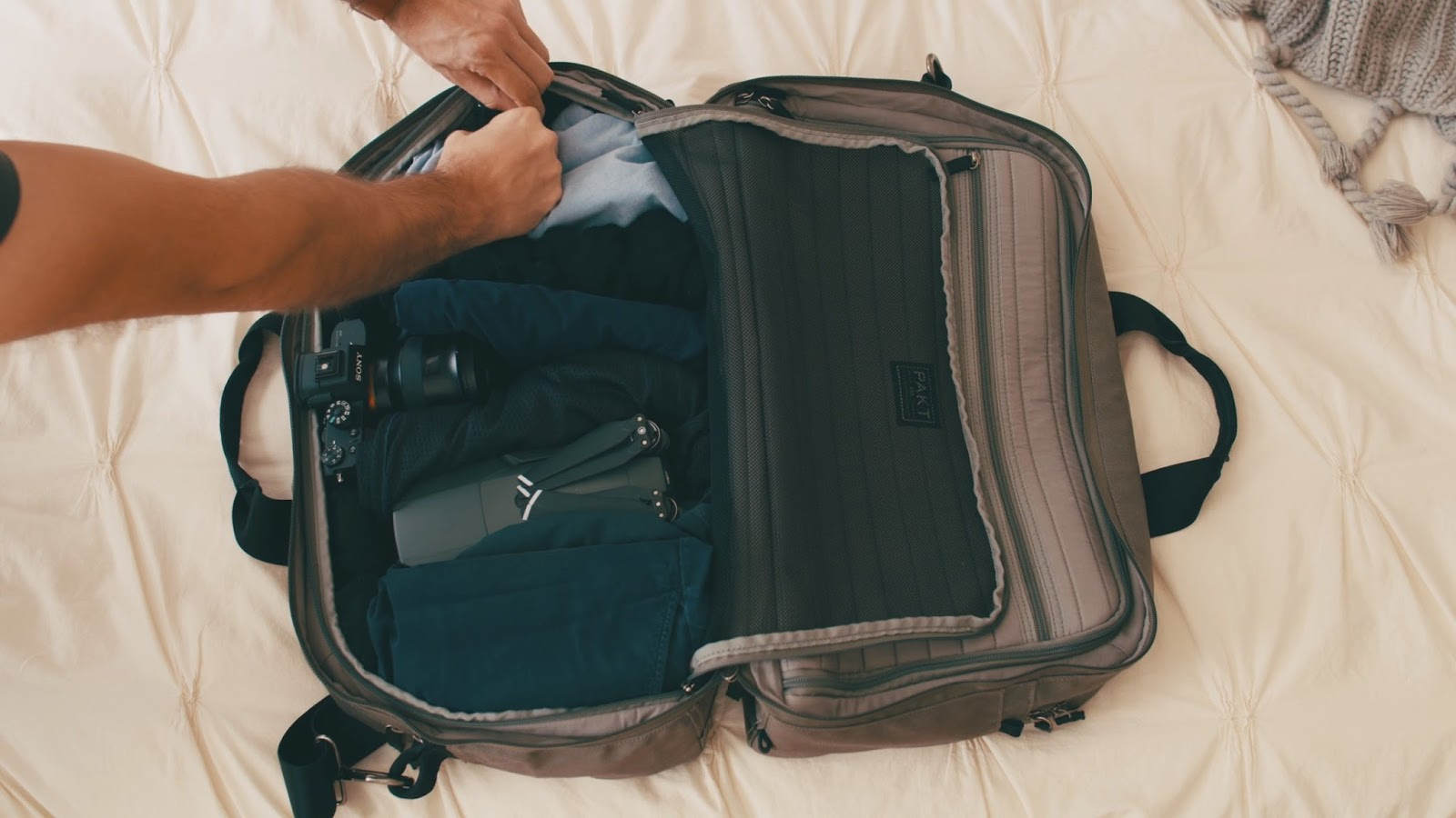 How to Pack like a Minimalist Filmmaker